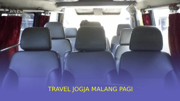 Travel Jogja Malang Pagi