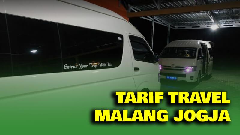 Tarif Travel Malang Jogja